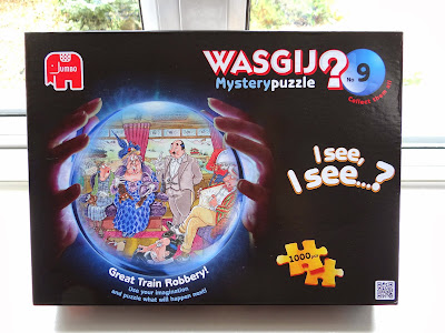 Wasgij? puzzle No 9, 1000 pieces puzzles, guessing game