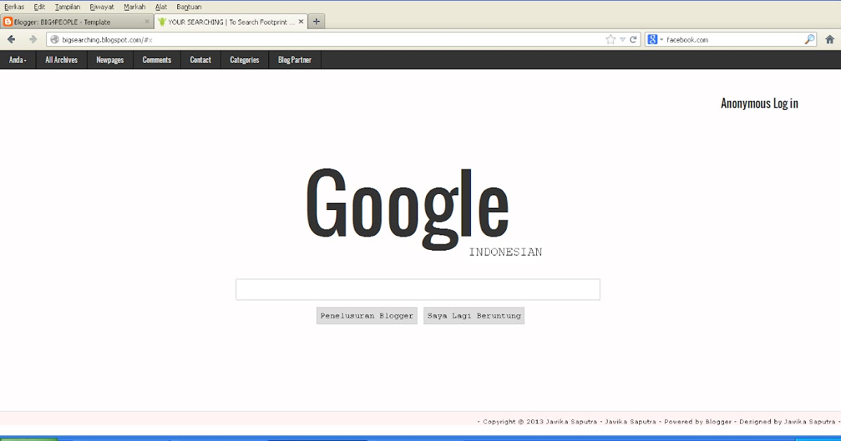 BIG4PEOPLE: google blog template