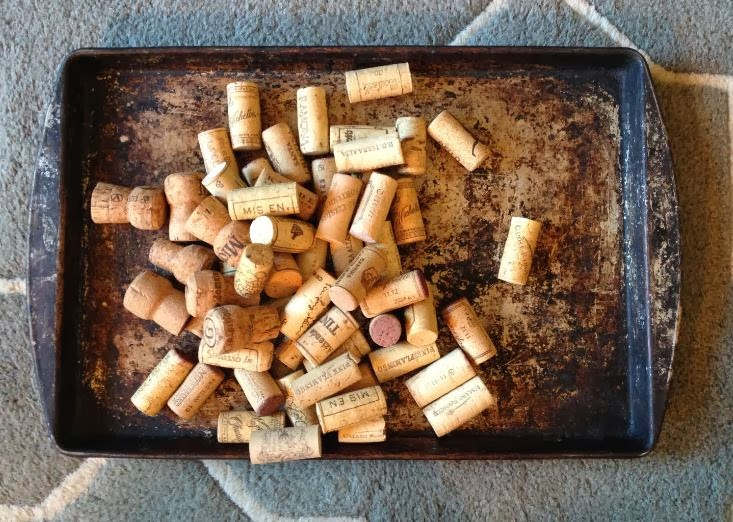 Luxe Austerity Make It Better Wine Cork Boot Tray Diy