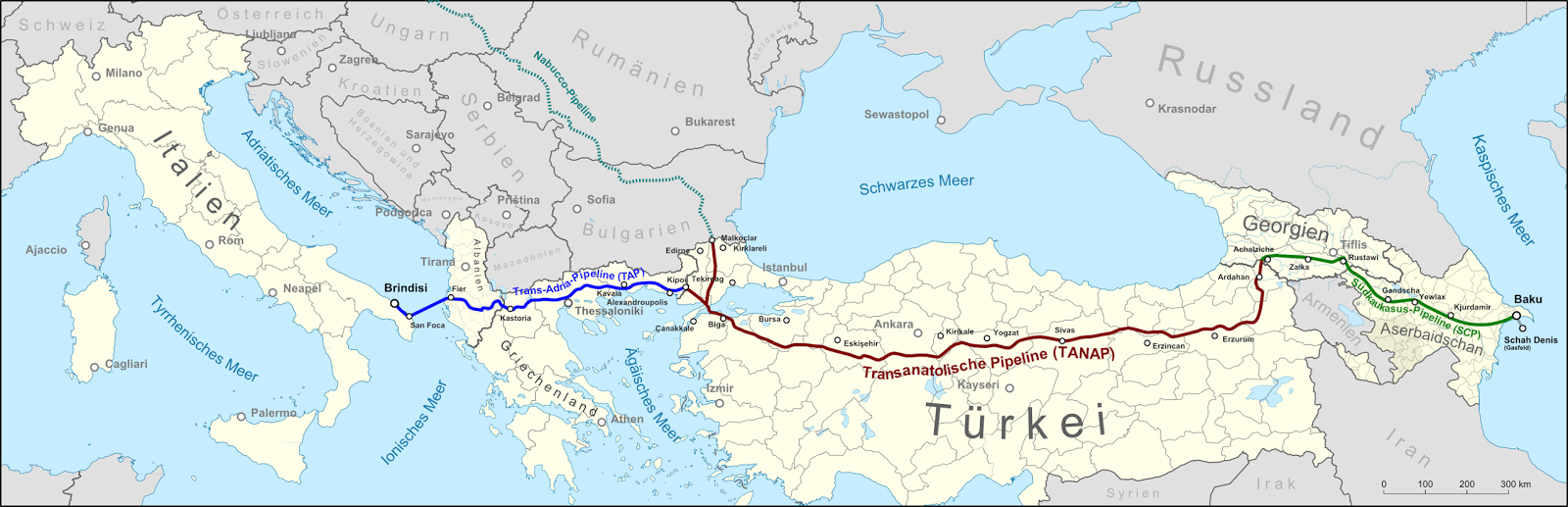 for information on azerbaijan s trans anatolian gas pipeline referred to in the article see trans anatolian gas pipeline wikipedia tanap