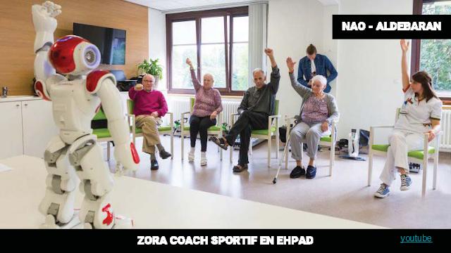 Zora coach Aldebaran