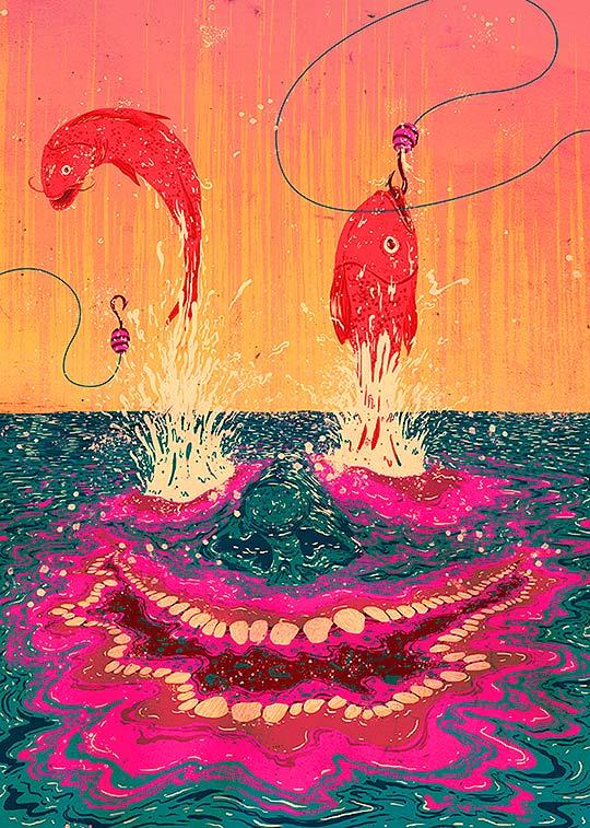 Ilustración, colorido y texturas de Zansky de Zaster