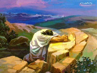Hasil gambar untuk yesus berdoa