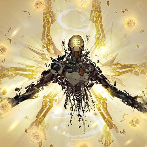 Zenyatta Transcendence Wallpaper Engine