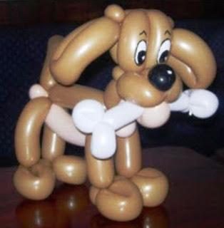 Gambar Balon Karakter Puppy_Anak Anjing Lucu_Balloon Character Puppy_2