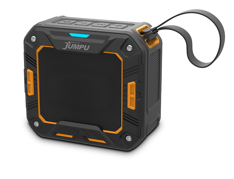 JUMPU launches TSUYOI-S rugged and water resistant speaker!