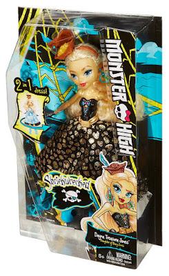 JUGUETES - MONSTER HIGH : Shriek Wrecked  Dayna Treasura Jones : Muñeca  Producto Oficial 2016 | Mattel DTV93 | A partir de 6 años  Comprar en Amazon España