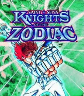 Portada de la novela gráfica Knights of the Zodiac, Saint Seiya
