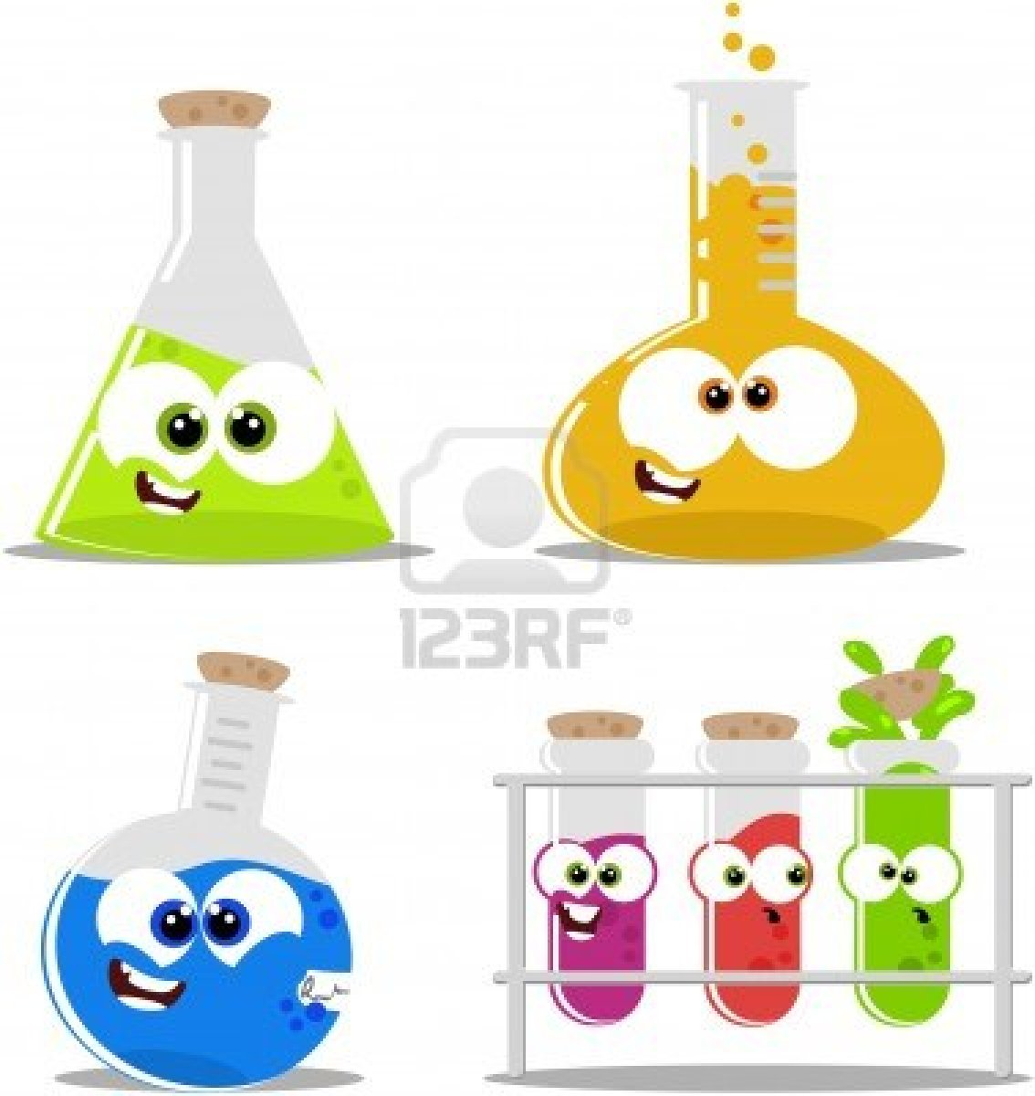 clipart test tubes and beakers - photo #37