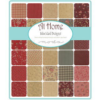 At Home Fabric by Blackbird Designs for Moda Fabrics