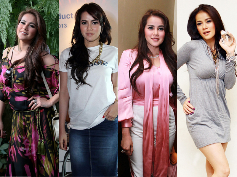 Wanita cantik Indonesia Olla Ramlan PEsona wanita asia