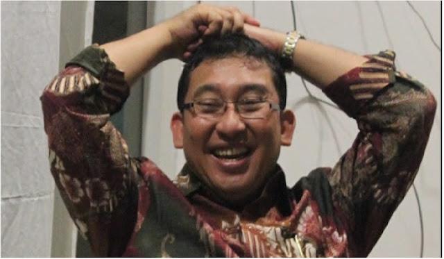 Fadli Zon Mengaku Membuat Puisi Secara Spontan Seusai Acara ILC Semalam.