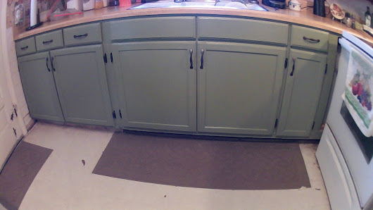 Kitchen Cabinets are Done
