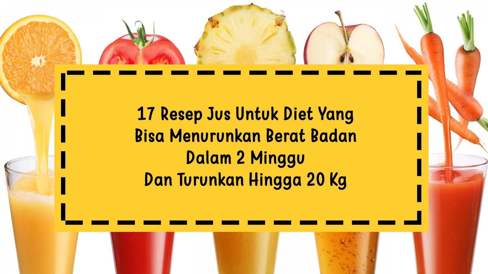 15 Pilihan Jus Buah Paling Ampuh Untuk Diet
