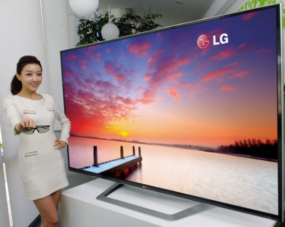The World's First 84 inch LG ULTRA HD TV 84LM9600