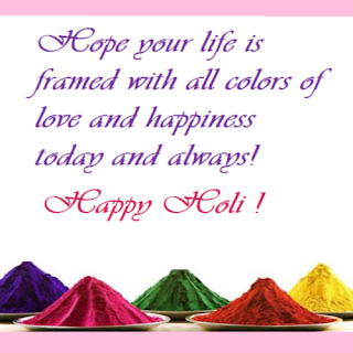 Happy holi 2018 for family