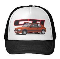 peugeot 205 gti trucker hat