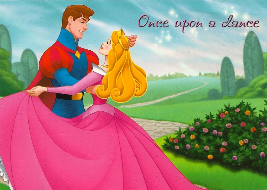 My Favorite Disney Postcards: Sleeping Beauty and Prince ...