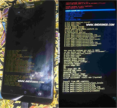 Cara Memperbaiki Brick Pada Asus Zenfone 2 (ZE551ML-ZE550ML)