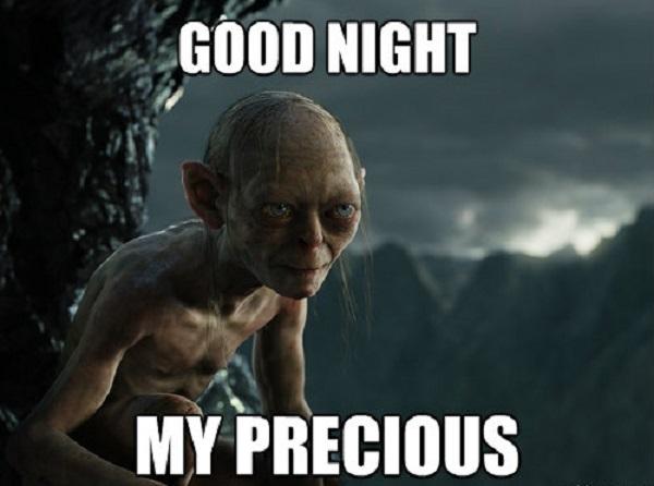 Funny Good Night Meme Image