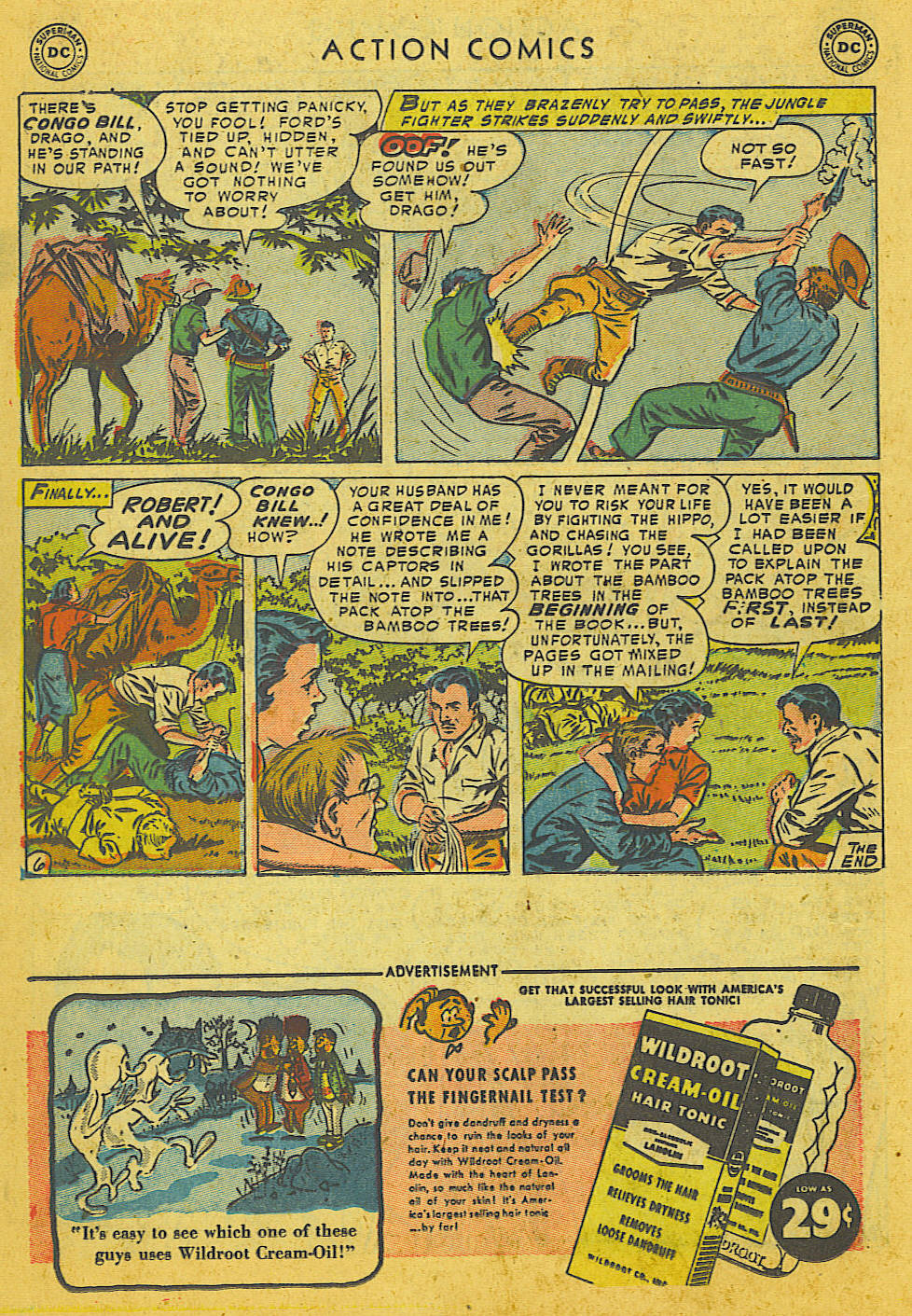 Read online Action Comics (1938) comic -  Issue #186 - 20