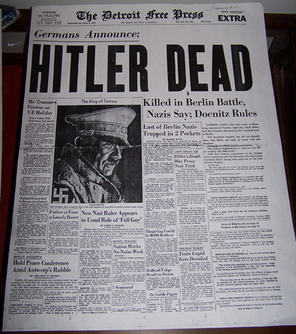 Hitlerin Kuolema