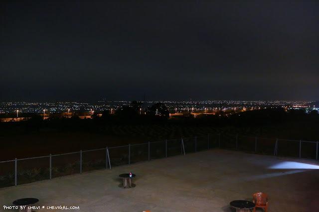 IMG 9903 - 台中清水│嗨咖泡腳夜色*天冷就是要邊看夜景邊泡腳!超隱密180度超廣角夜景原來就在這!