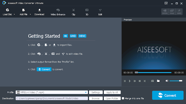 Screenshot Aiseesoft Video Converter Ultimate 9.2.82 Full Version