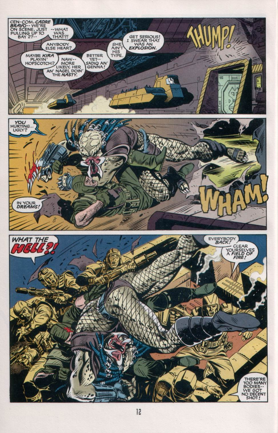 Read online Aliens/Predator: The Deadliest of the Species comic -  Issue #6 - 14