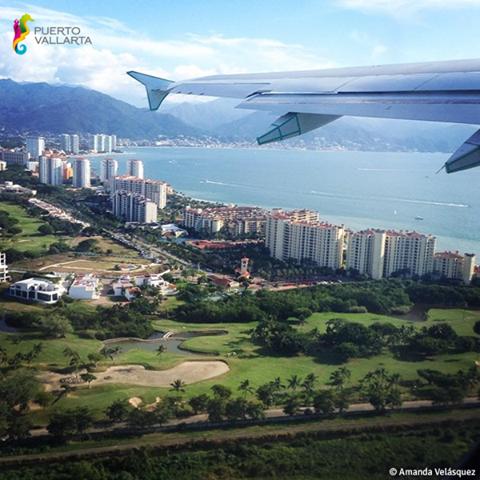 Vista áerea Puerto Vallarta