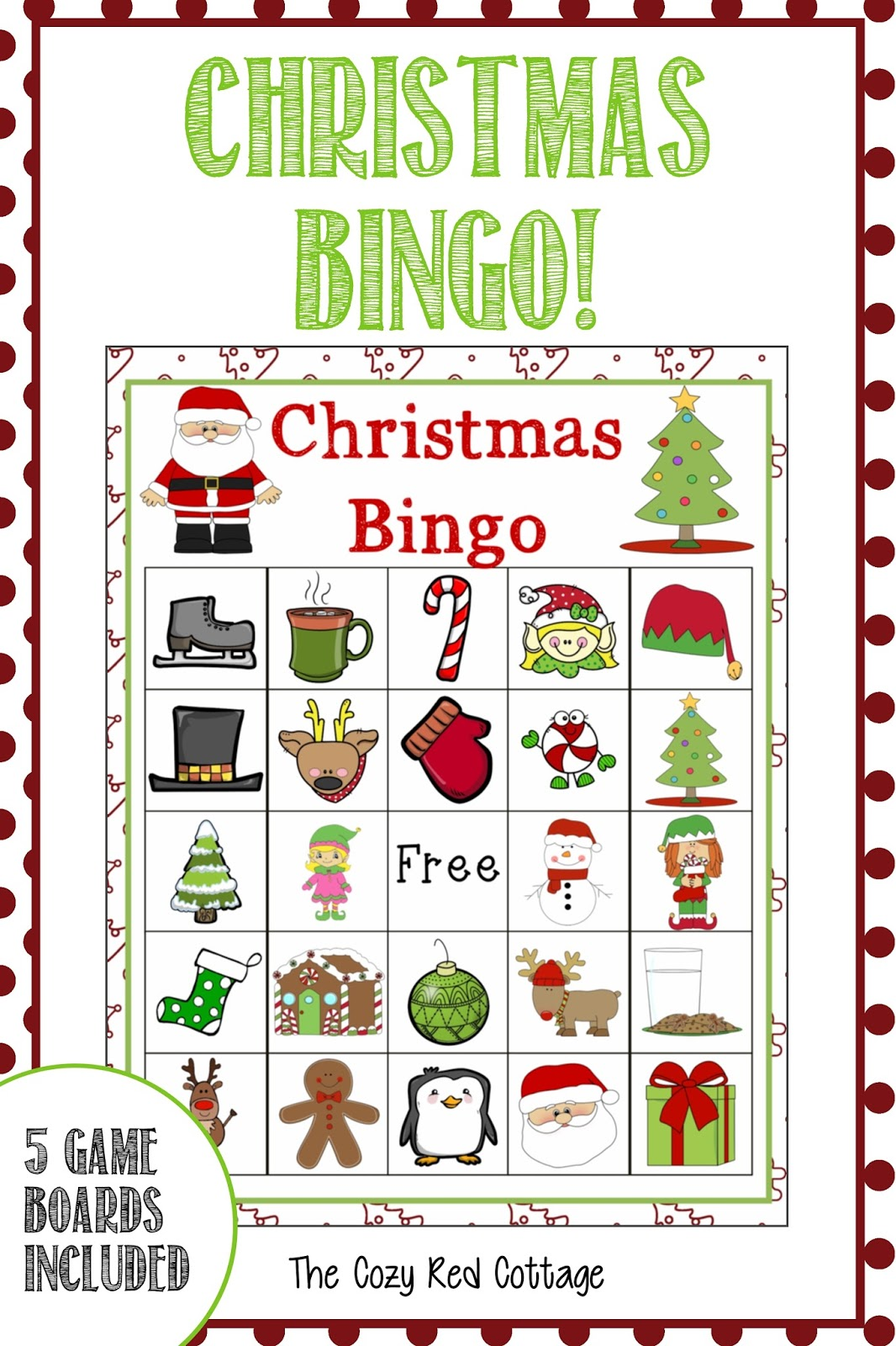 bingo is such a classic game all kids and adults love i wanted something fun to do with my cute kids one night and this is the perfect addition to any - Christmas Bingo For Kids