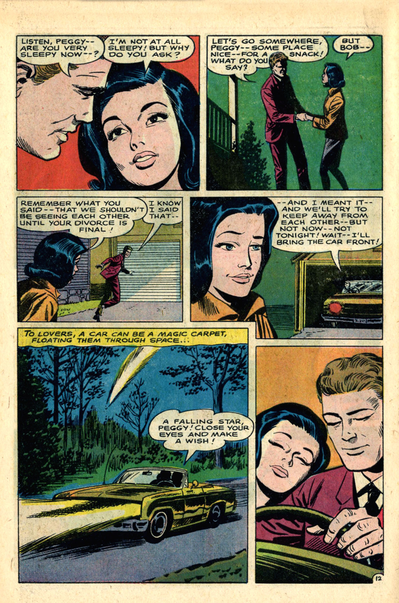 Read online Secret Hearts comic -  Issue #120 - 30