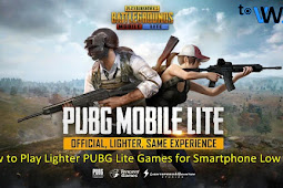 How to Play Games PUBG Lite for Smartphone Low Spec