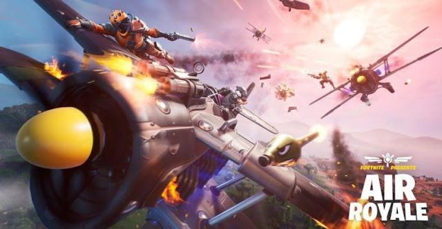 محبي لعبة Fortnite اليكم طور المعارك الجوية Air Royale سيقدم لكم تجربة جديدة مملوئة بالاثارة
