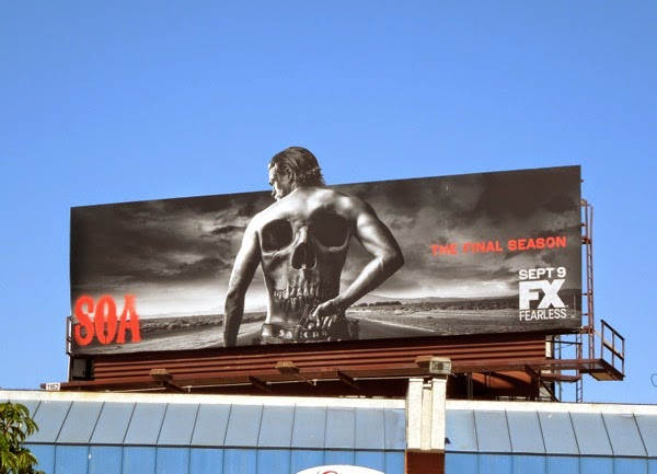 Sons of Anarchy season 7 special extension billboard