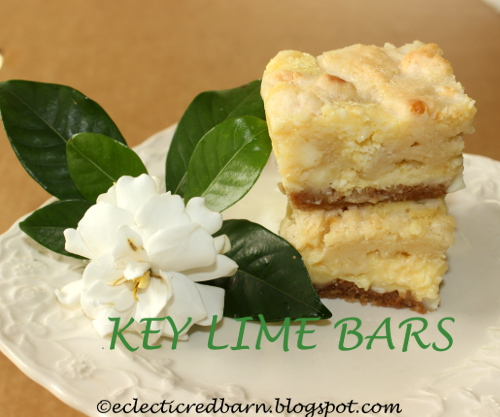 Eclectic Red Barn: Key Lime Bars