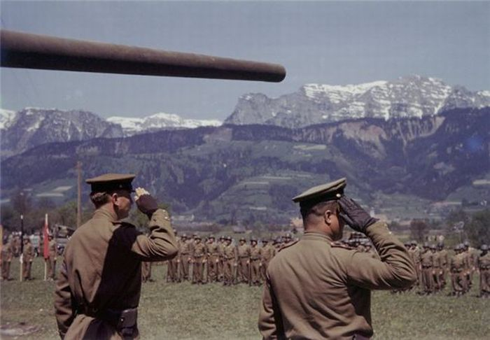 World War Ii Photos In Color Vintage Everyday