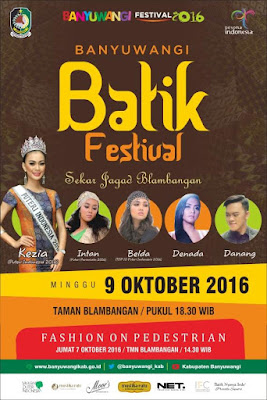 Banyuwangi Batik Festival 2016