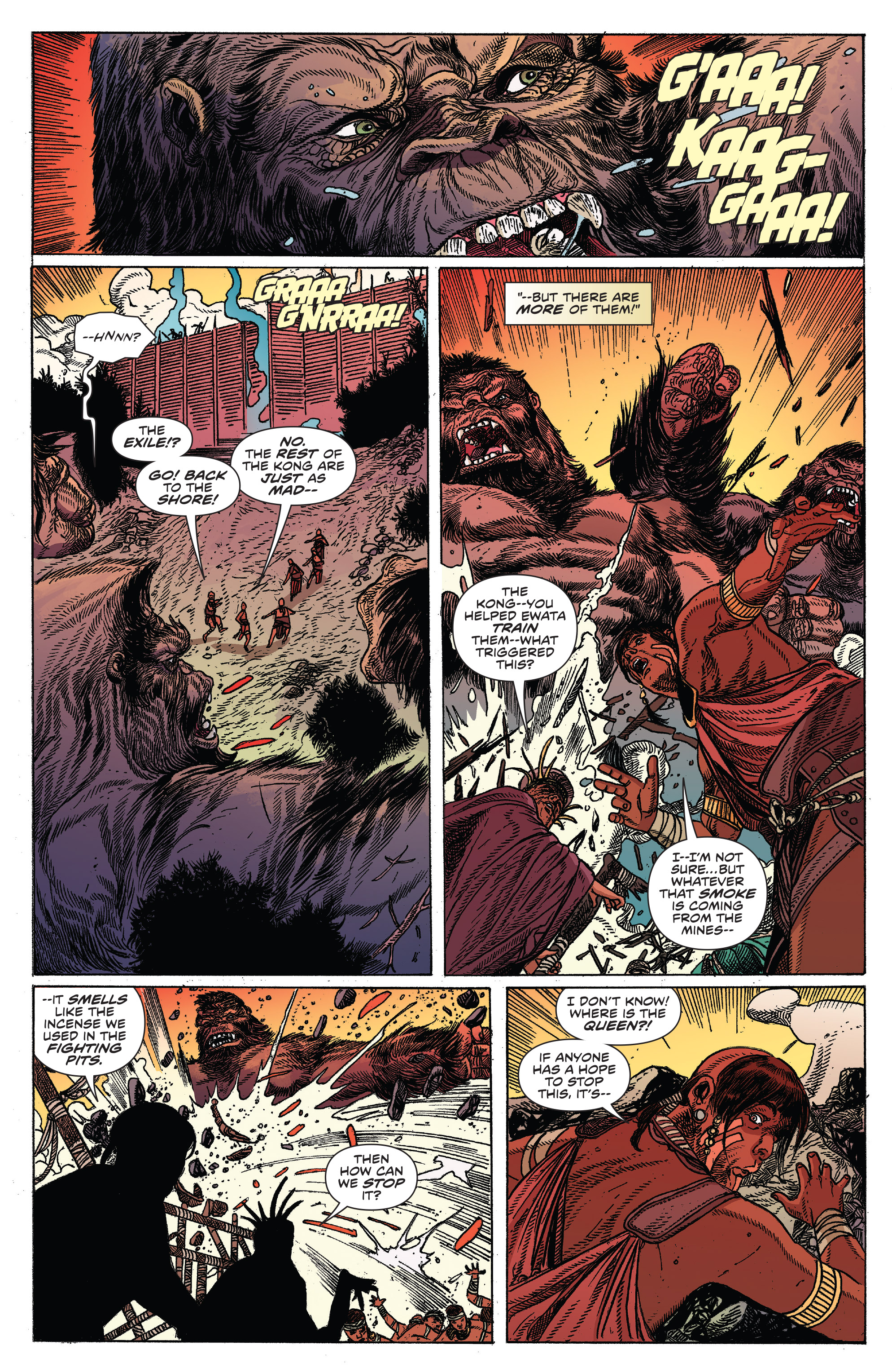 Read online Kong Of Skull Island comic -  Issue #12 - 8
