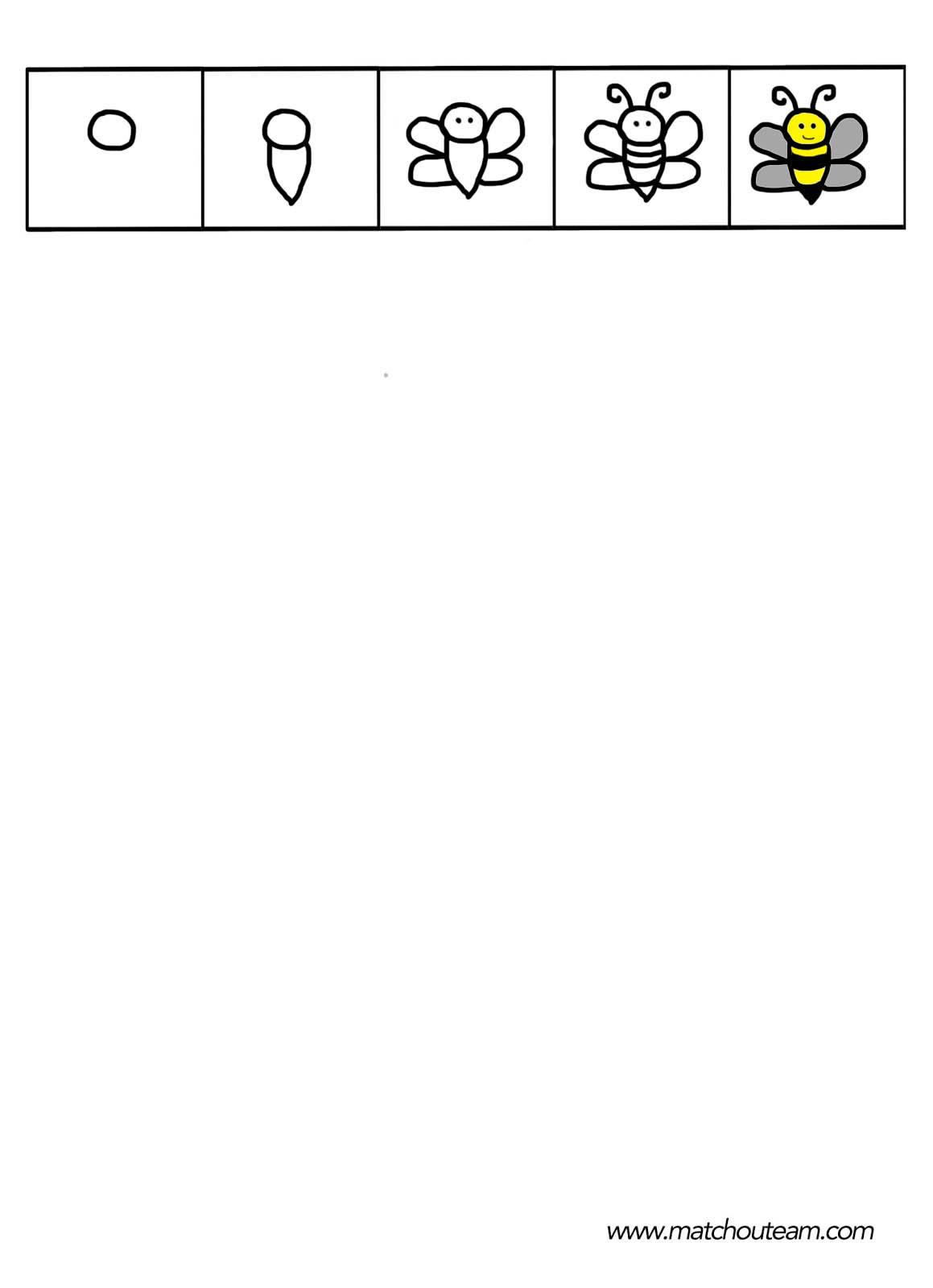 dessin dirigée d'abeille