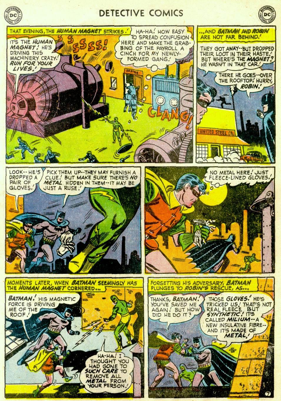 Read online Detective Comics (1937) comic -  Issue #181 - 9