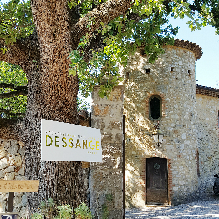 DESSANGE - Blogger Event Côte d'Azur - Event Location Le Castelet Schloß