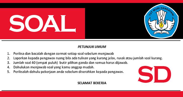 Contoh Soal dan Kunci Jawaban UTS Bahasa Jawa Kelas 2 SD Semester II