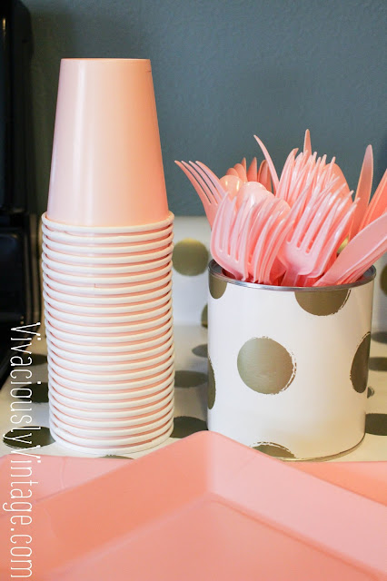 Baby Girl Pink & Gold First Birthday Party Ideas!