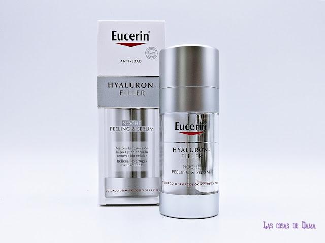 Hyaluron Filler Noche Eucerin dermocosmética farmacia belleza antiedad serum peeling beauty