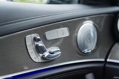 Vị trí chỉnh điện trên Mercedes