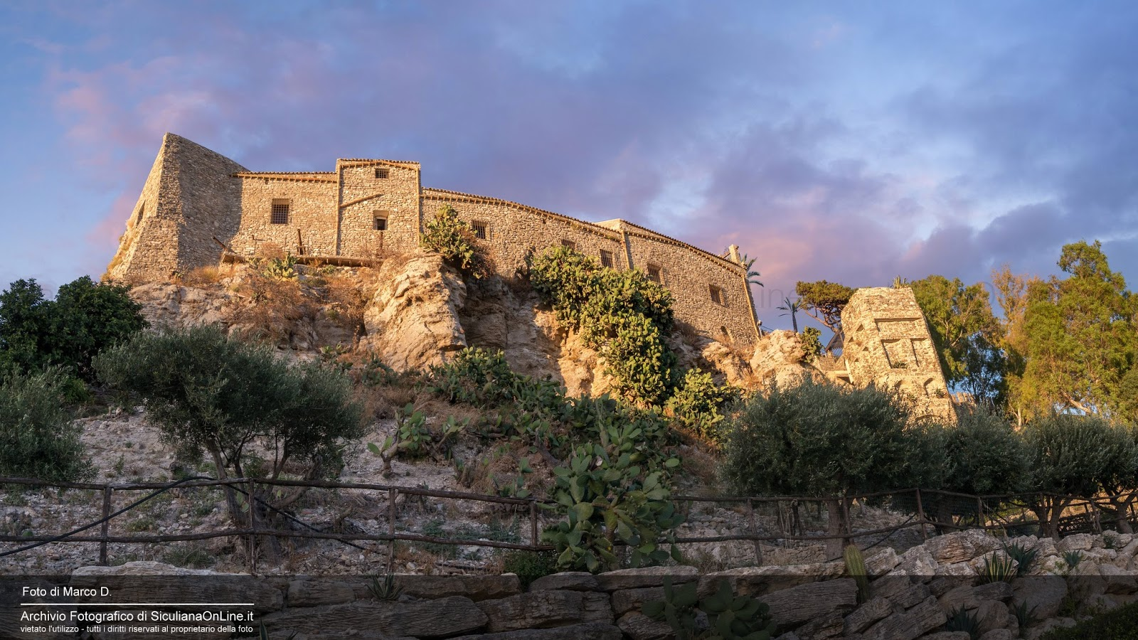 Il Castello Chiaramonte di Siculiana
