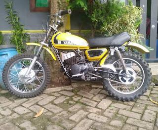 Jual Trail Yamaha mx80 25jt NP   Telp/wa 082220123690