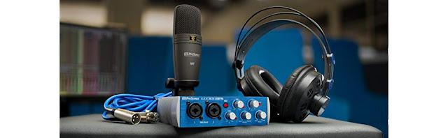 PreSonus 96 Studio High Definition Recording Kit, Blue