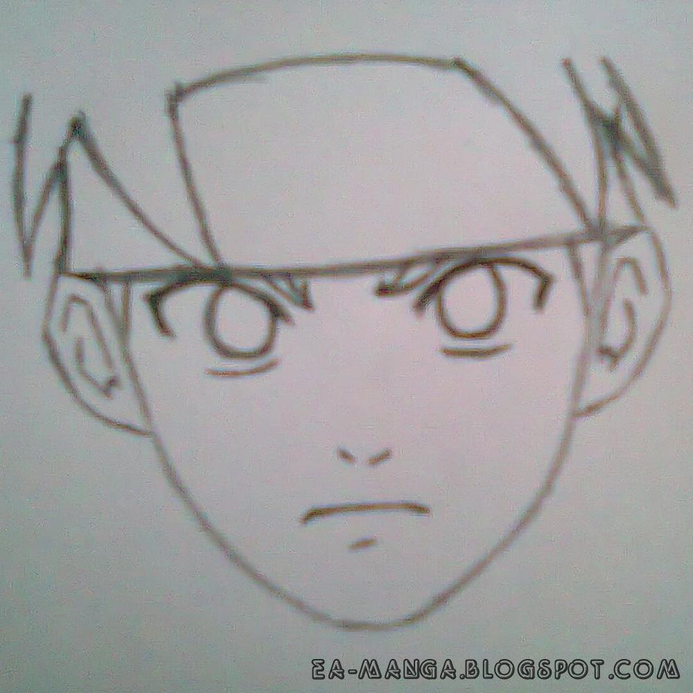 Cara Menggambar Naruto Uzumaki | Game Anime Terbaru
